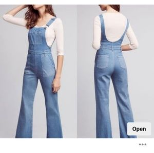 NWT AG Jeans Flare Leg Overalls (24)